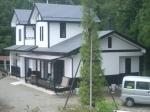 漆喰仕上げの家