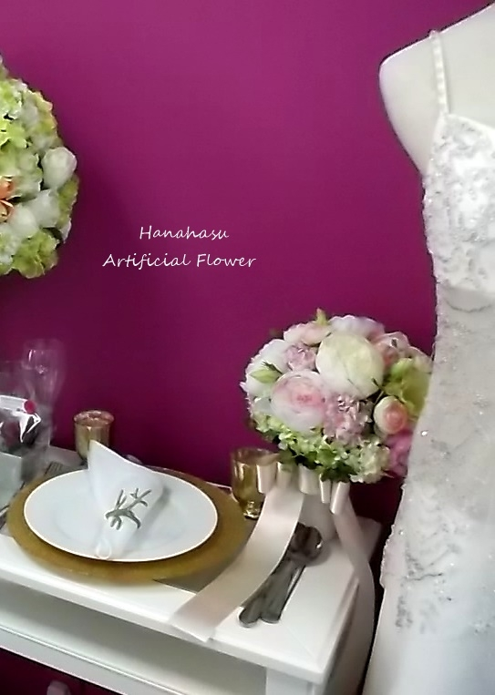 Artificial flower Wedding