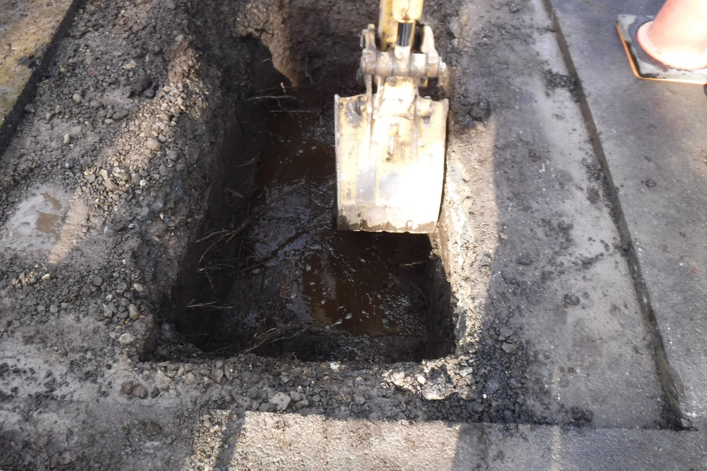 江戸川 区 沿道 掘削
